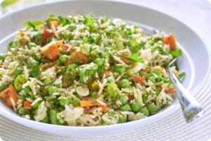Rice Salad With Sacla' Free From Pesto Dressing 10