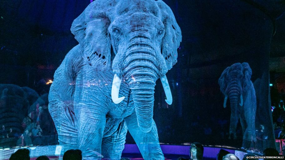 Circus replaces animals with holograms and the results are stunning 2