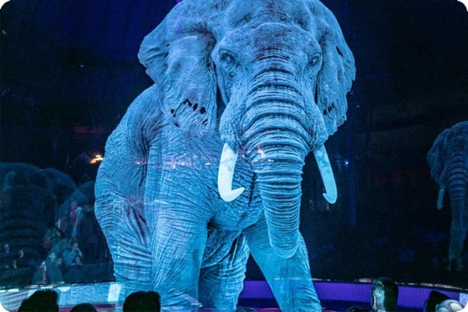 Circus replaces animals with holograms and the results are stunning