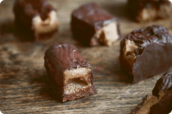 Chewy Chocolate Bars