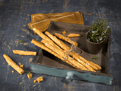 Violife Breadsticks with Herbs