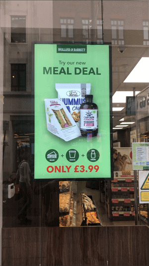 Health Food Chain Launch On-The-Go Lunch Range 1