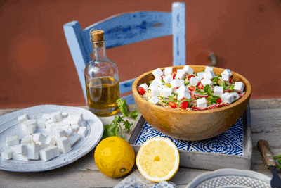 Greek White Tabbouleh