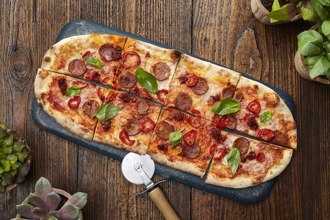 zizzi new jackfruit vegan pizza