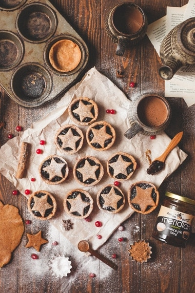 Meridian's Almond Butter Mince Pies 1