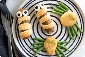 Quorn Sausage Mummies & Quorn Nugget Spiders 15