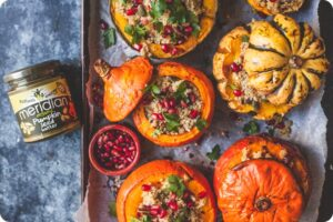 Quinoa Stuffed Roasted Pumpkins 17