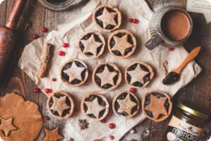 Meridian's Almond Butter Mince Pies 12