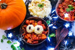 Smoky Pumpkin Curry with Vegan Quorn Pieces 11