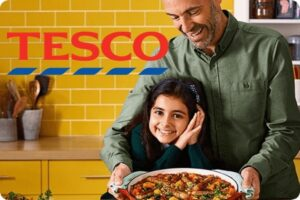 Tesco vegan advert