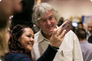 James May vegan