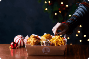Japanese Food Chain Launches a Vegan Fried Chicken Feast 2