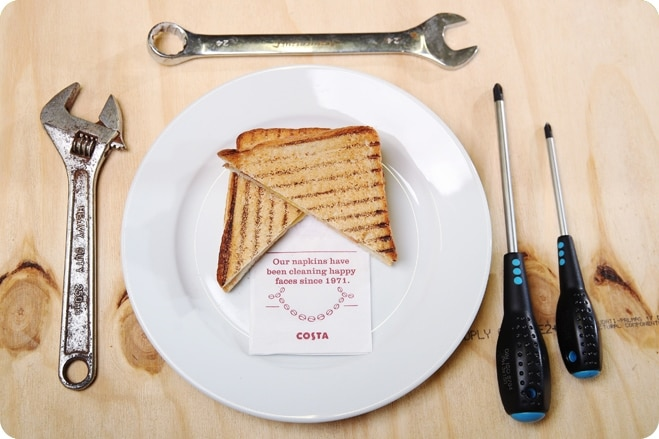 Costa Reveal Their Trader-Approved Vegan Toastie