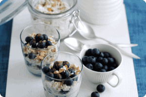 Blueberry Bircher Muesli 11