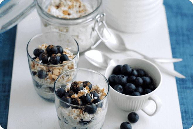 Blueberry Bircher Muesli
