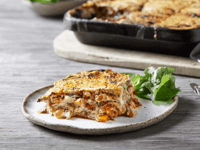 Lentil Lasagne with Cauliflower Cashew Cheese 1