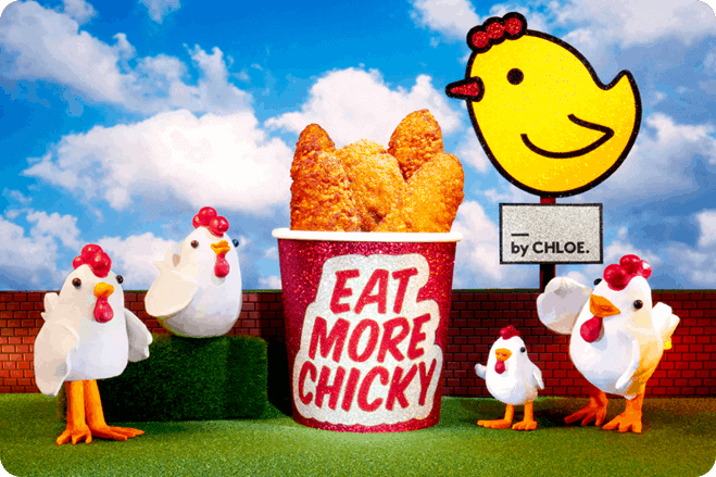 by CHLOE. brings their famous plant-based 'Chicky' to the UK
