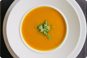 Carrot and Turmeric Soup 21