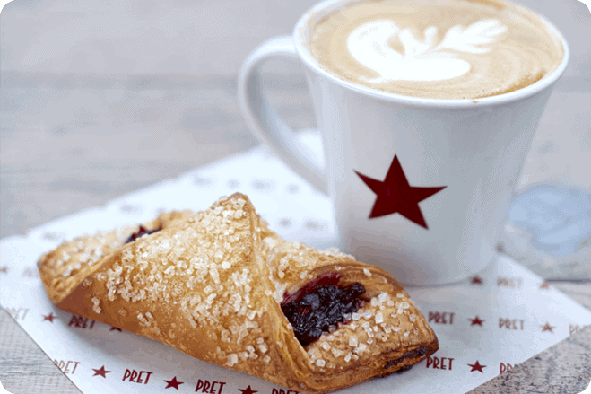 Pret Launches its Very First Vegan-Friendly Croissant
