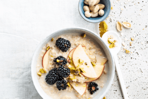 Oatmeal with apple 15
