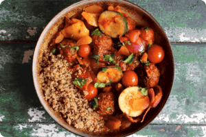 Spiced Tagine with Gosh! Moroccan Spiced Falafel 17