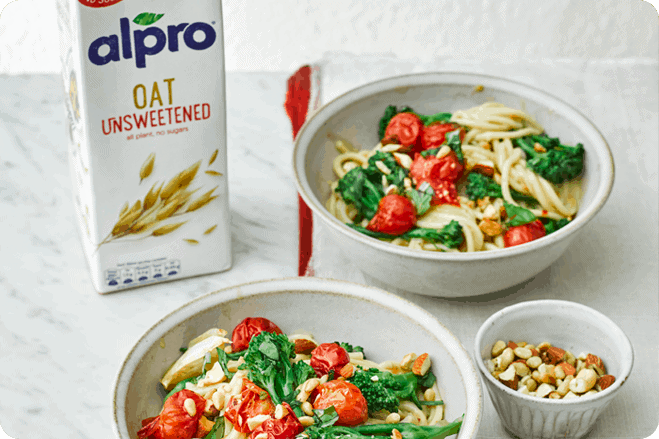 Alpro Roasted Tomato and Broccoli Pasta