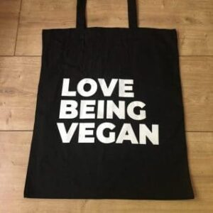 Love Being Vegan Tote