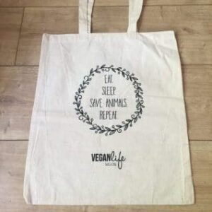 Eat Sleep Save Animals Repeat Tote