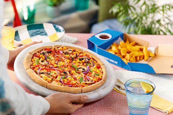 Domino's confirms trial of two vegan pizzas