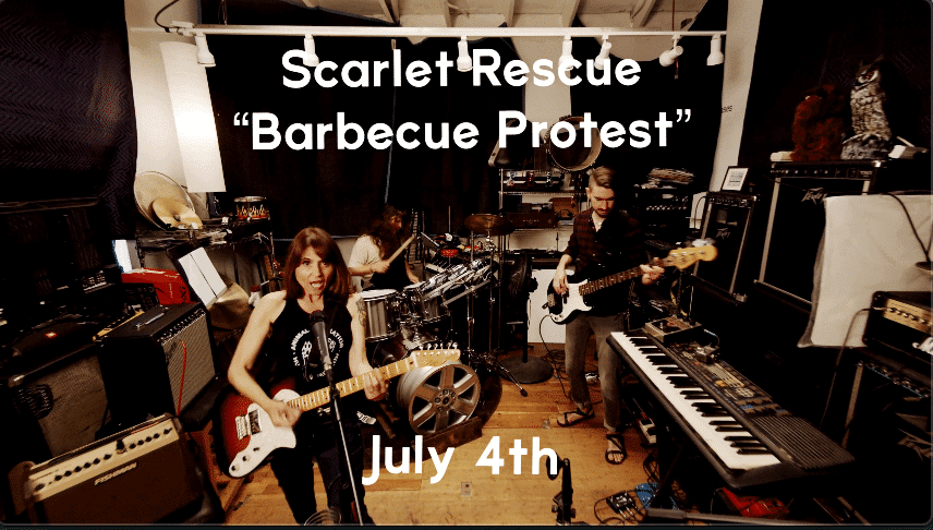 vegan punk band scarlet rescue