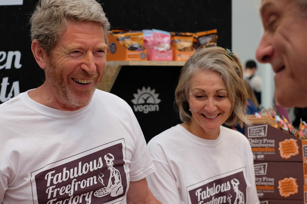 Joseph and Deborah Imrie, founders of The Fabulous Freefrom Factory