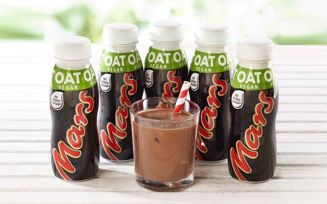 Mars announce release of a deliciously creamy vegan Mars Bar drink