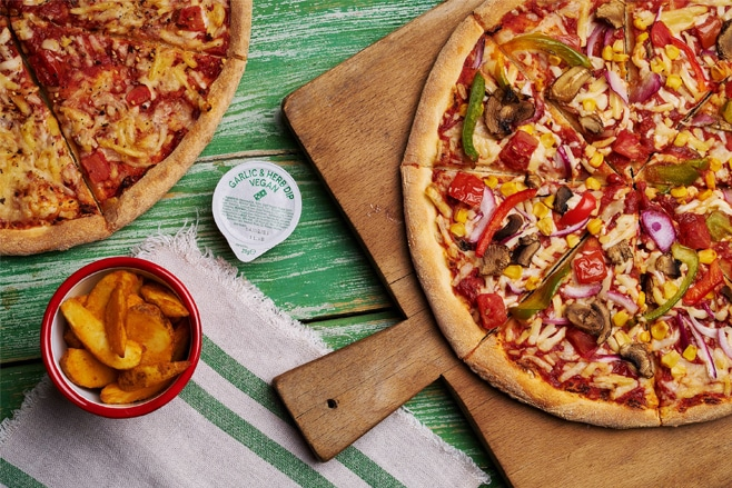 You can now get a Domino's vegan pizza in the UK
