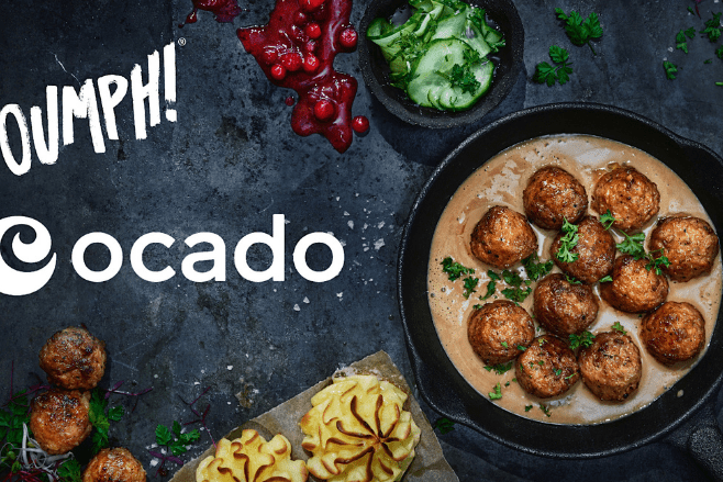 Delicious Oumph! Balls are rolling into Ocado