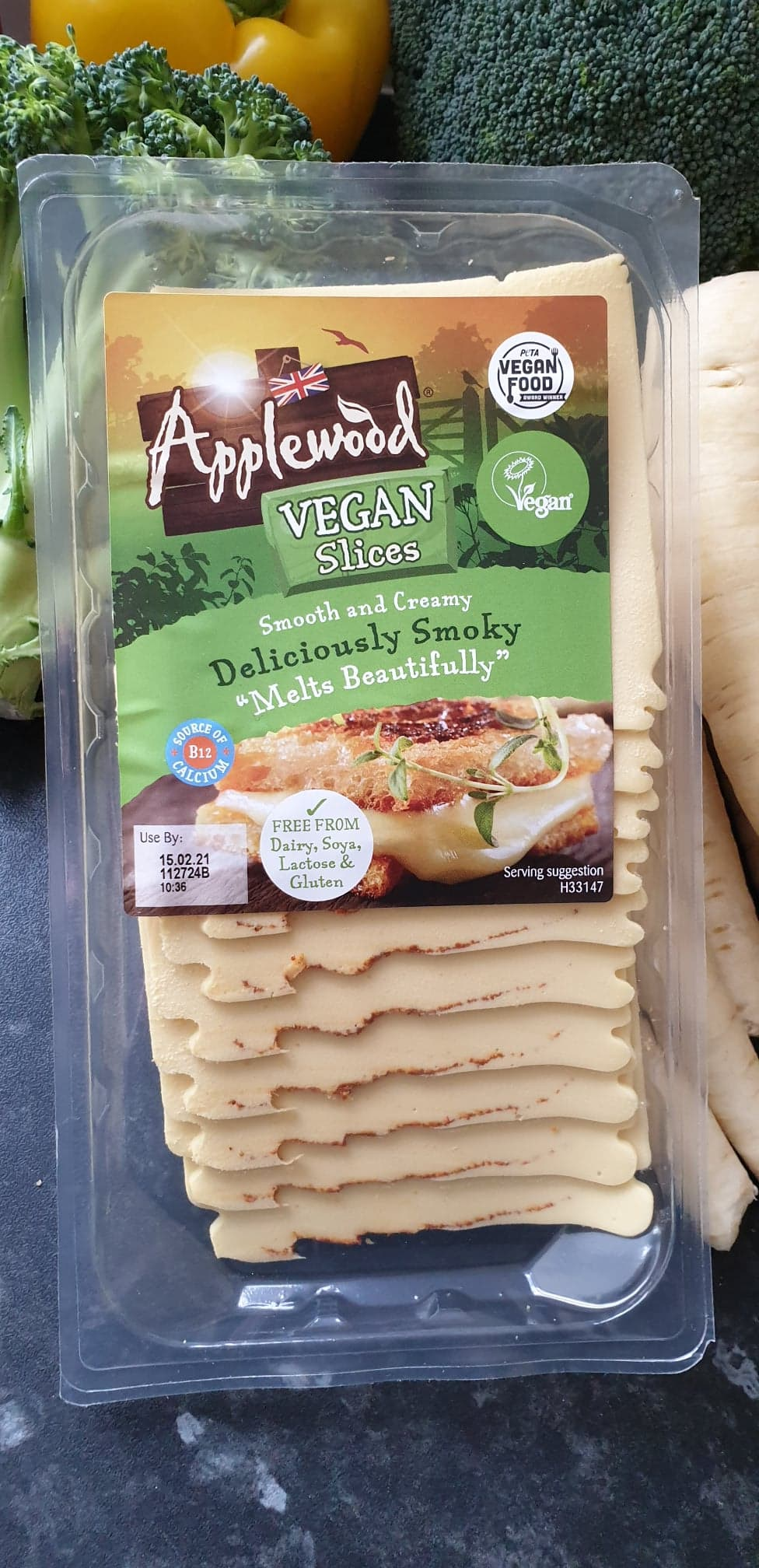 vegan cheese applewood