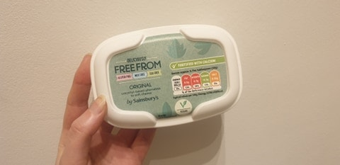 vegan cheese tesco