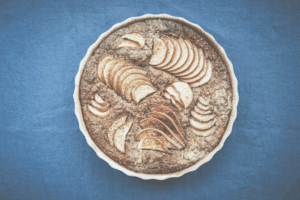 Fairtrade Fortnight: Pear, Hazelnut, Chocolate & Emmer Torte  4