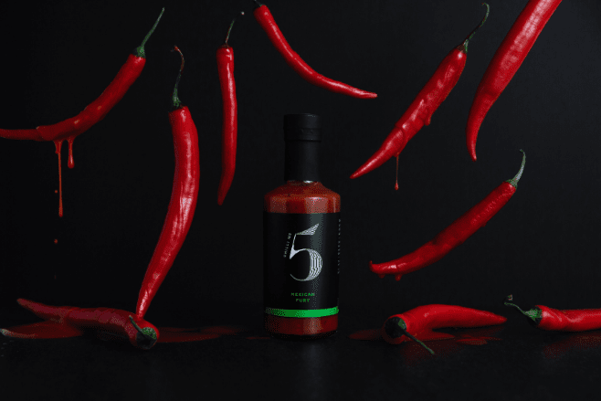 Chilli No. 5 Launches Revolutionary Range of Vegan Chilli Sauce